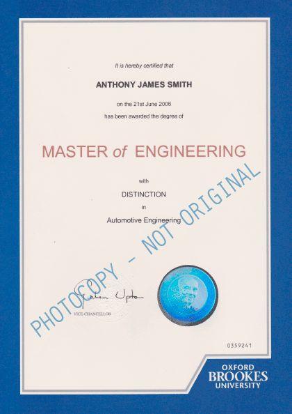 Certification - Ensevo