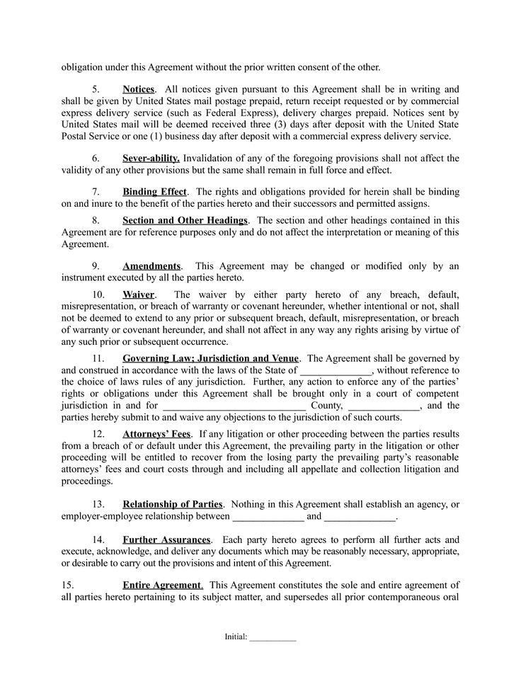 Investment Agreement. Capital Investment Agreement Template Word ...