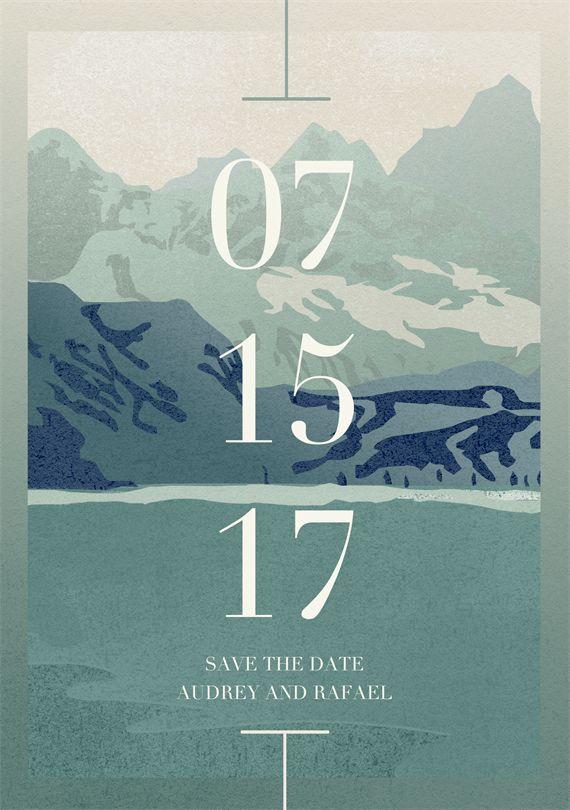 Wedding Save The Date Designs | Greenvelope.com