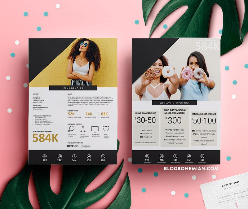 Want This Free Media Kit Template for Your Blog? — KimberlyLuxe