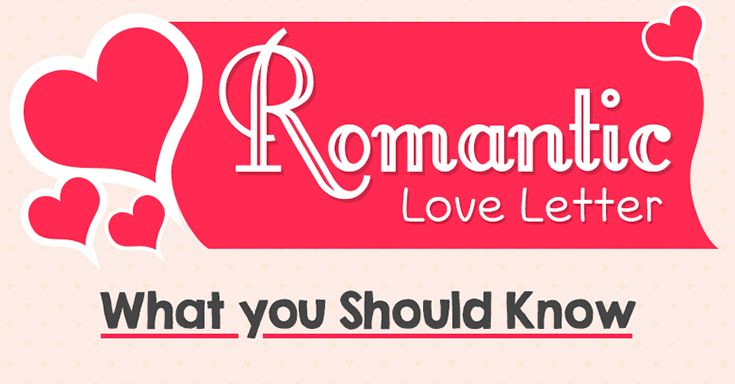 How to Write a Love Letter: A Romantic Infographic