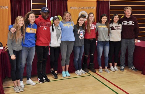 M-A student athletes participate in National Letter of Intent ...