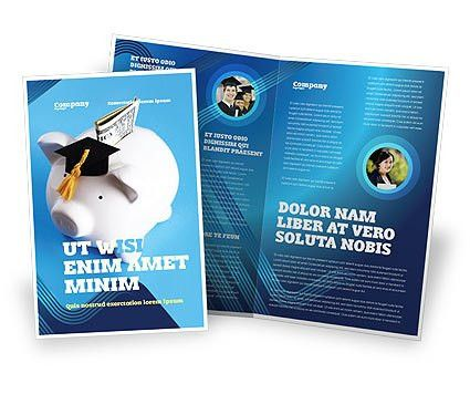Education Costs Brochure Template Design and Layout, Download Now ...