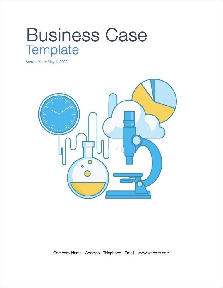 Business Case Template (Apple iWork Pages)