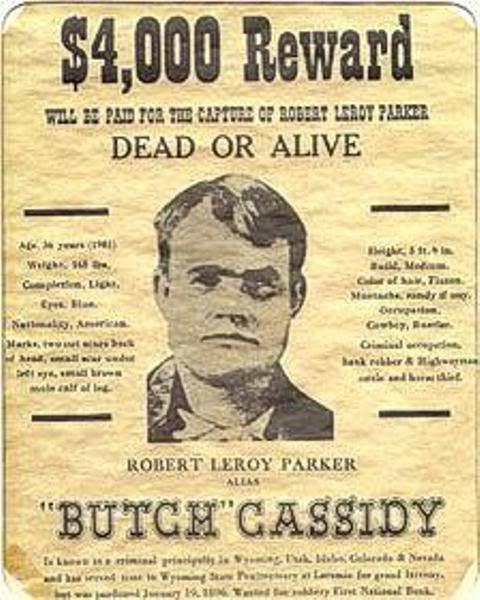 Butch Cassidy Bio - Bonanza Boomers