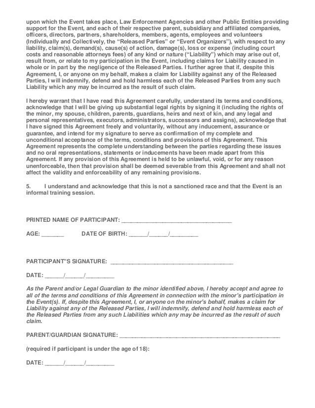 Wildwood training fun run 2014 triathlon waiver form