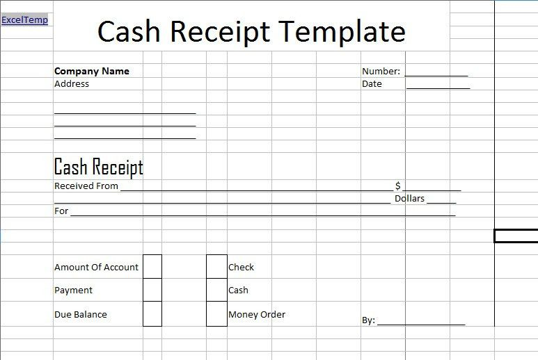 How to Fill out Cash Invoice - Excel About