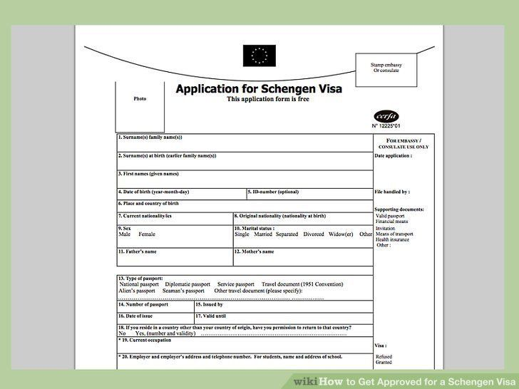 How to Get Approved for a Schengen Visa: 9 Steps (with Pictures)