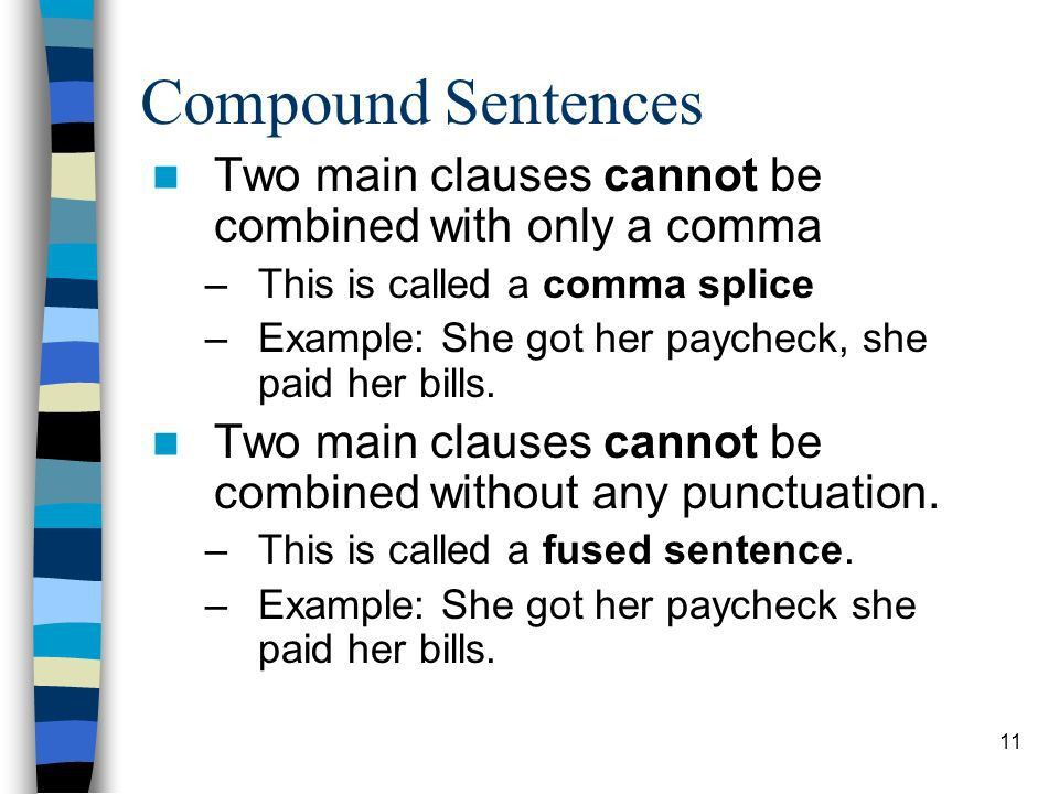 1 Punctuation: Clauses ENG Beginning Punctuation GOALS Distinguish ...
