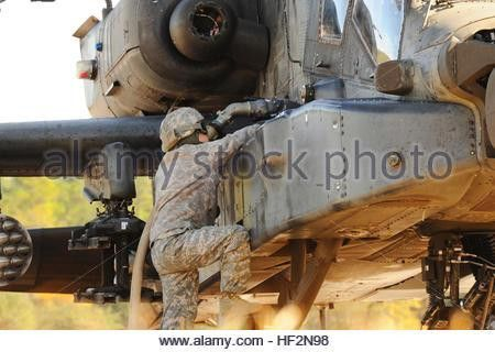 A petroleum supply specialist with 1-4 Attack Reconnaissance Stock ...