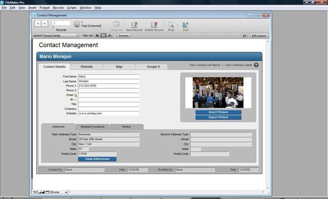 FileMaker Pro 10 : Time Saver