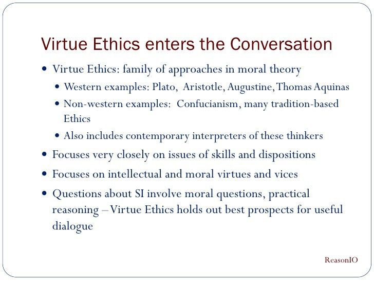 phi ethical issues in health care virtue ethics feminist ethi virtue ethics si presentation