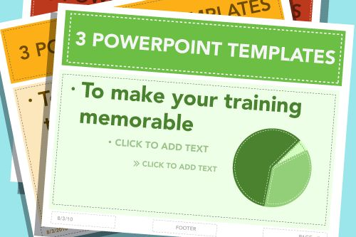 3 (Free) PPT Templates To Make Your Training More Memorable