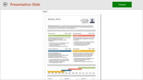 Buy Resume Templates - Microsoft Store