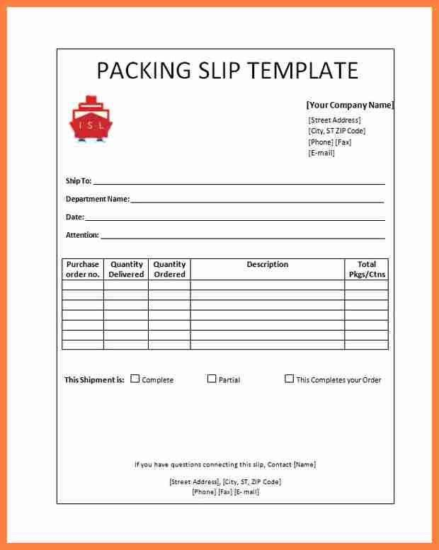 Appointment Slip Template. 7+ Packing Slip | Salary Slip Packing ...