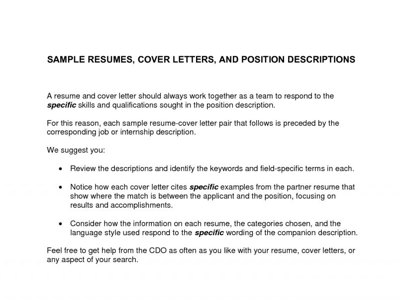 Pleasurable Design Ideas Writing A Cover Letter For Resume 14 ...
