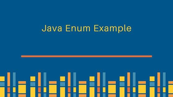 Java Enum - Enum in Java - JournalDev