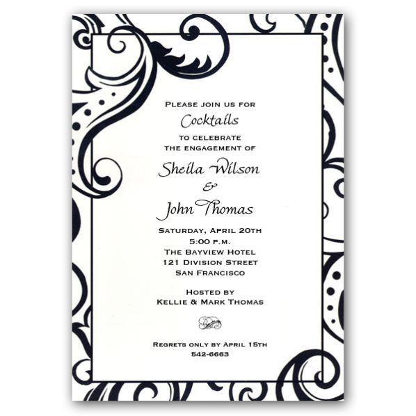 Engagement Party Invitation Templates - Blueklip.Com