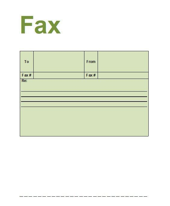 fax cover sheet professional design. straightforward blank fax ...