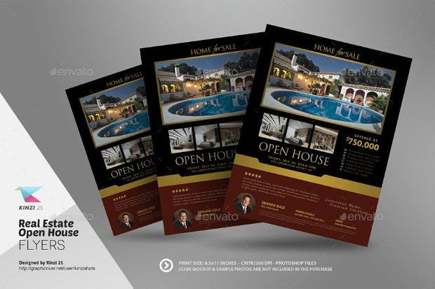 21+ Open House Flyer Designs, PSD Download | Design Trends ...