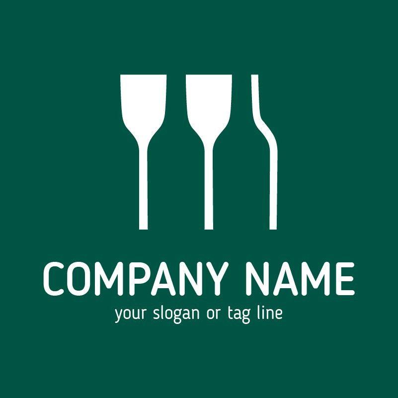 Glass Logo Template. Buy Logo Design Template!