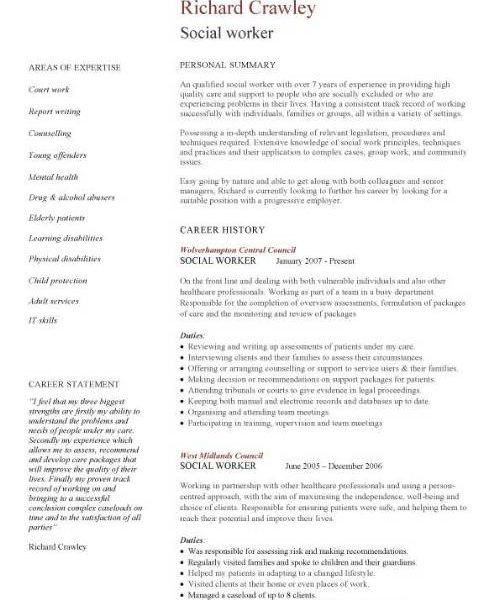 sample social work resume social work resume sample writing guide