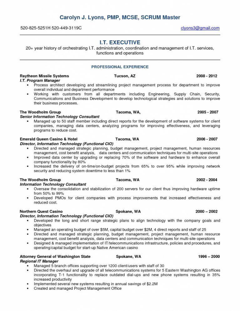 Scrum Master Resume. Thomas Bookhamer Resume Image Gallery Of ...