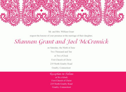 Free Invitations Templates - Themesflip.Com