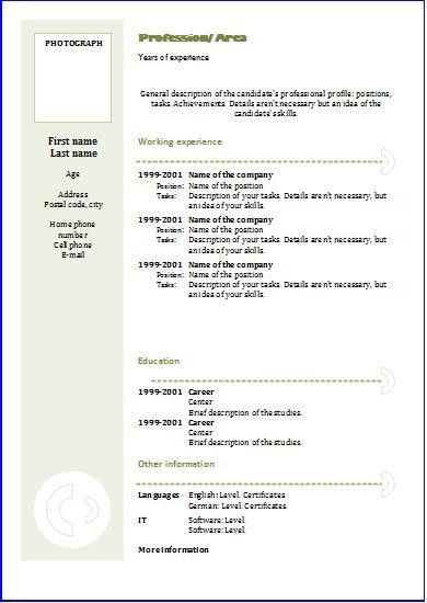 step by step cv resume writing step 1 personal. personal care ...