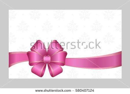 Voucher Gift Certificate Coupon Gift Card Stock Illustration ...