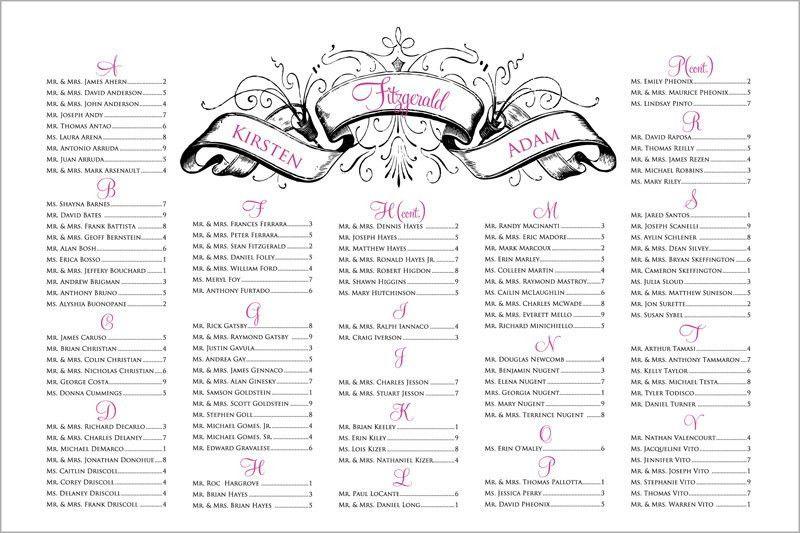 Free Wedding Seating Chart Templates Free Editable Wedding – Sample Wedding Seating Chart