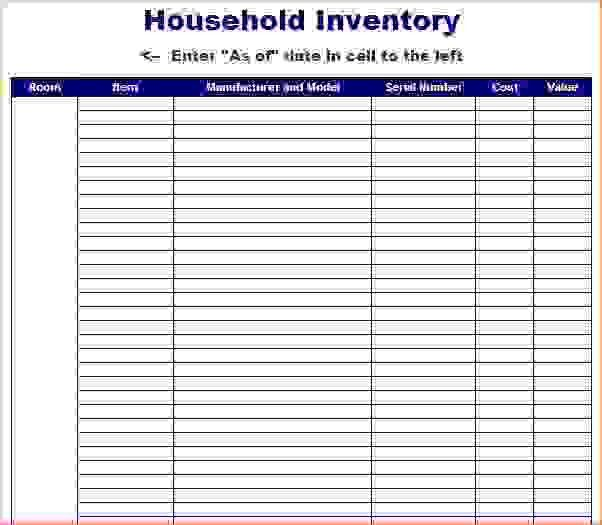 7+ free inventory template | Procedure Template Sample