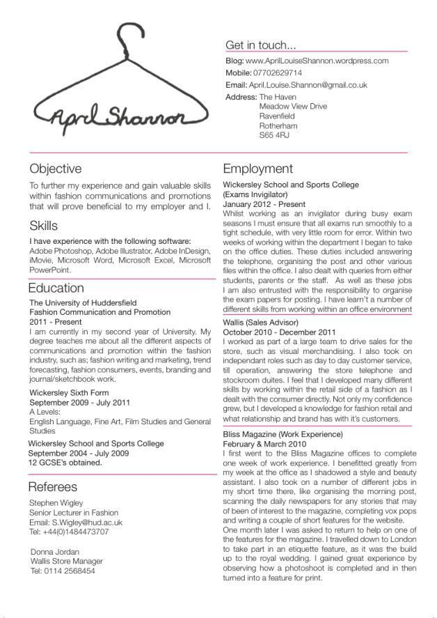 Glamorous Fashion Buyer Resume Examples 32 On Resume Cover Letter ...