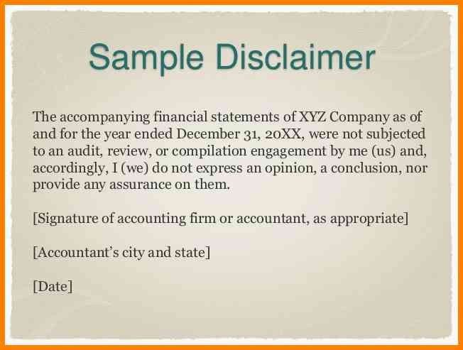 12+ accountant disclaimer example | cashier resumes