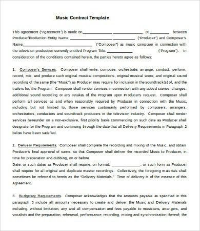 12+ Business Contract Templates - Free Sample, Example, Format ...