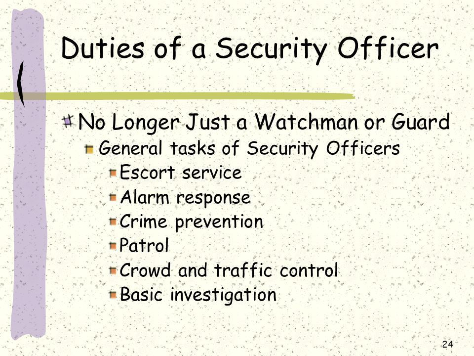 New York State Security Guard Training - ppt download