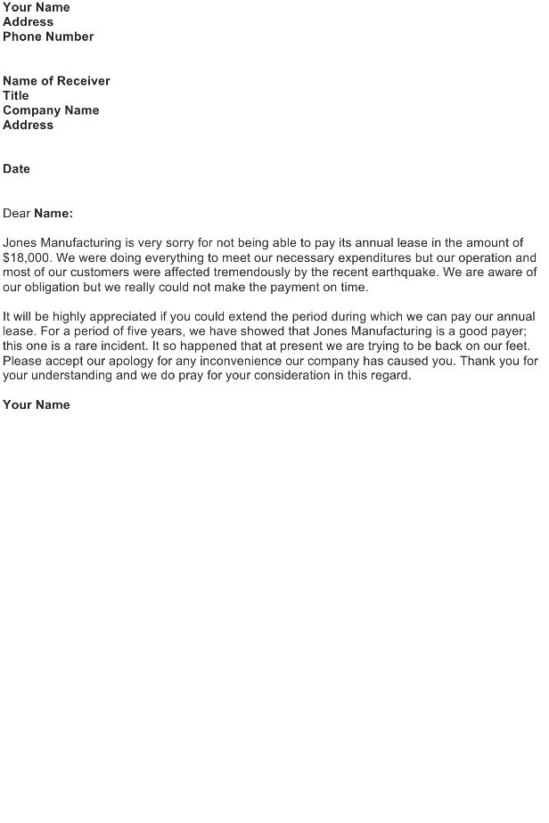 Late Payment Apology Letter
