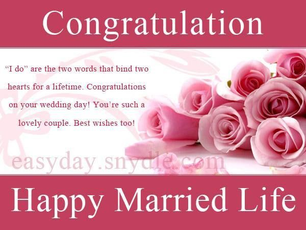 Wedding Wishes, Messages, Wedding Quotes and Greetings - Easyday