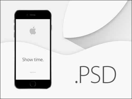 15 free PSD Mockups for iPhone 6