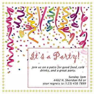 60 Free DIY Printable Invitation Templates in Word