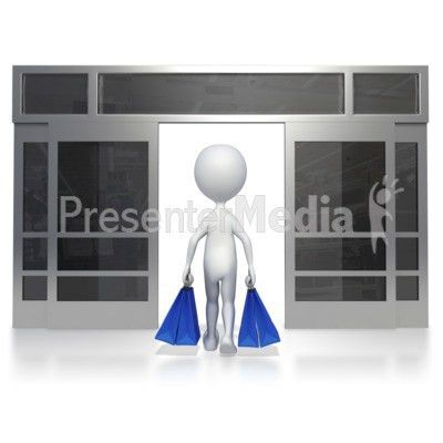 Walking Out Of Store - Business and Finance - Great Clipart for ...