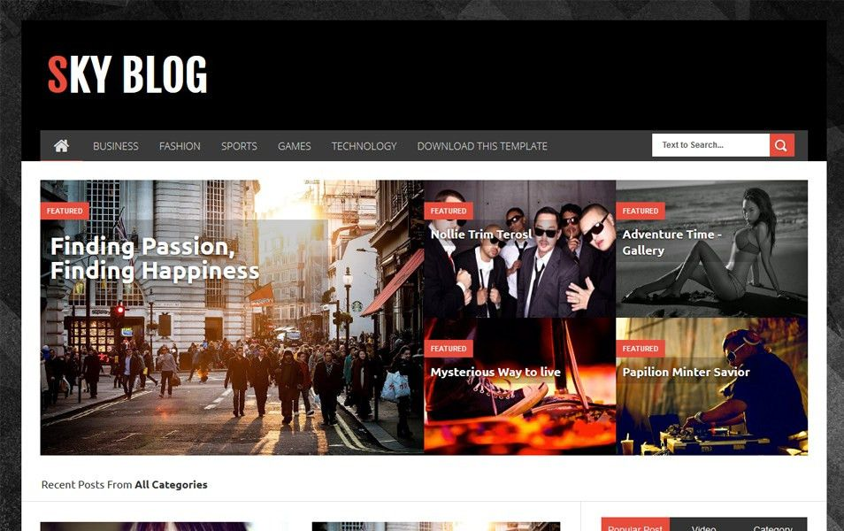 250+ Best Free Responsive Blogger Templates 2015