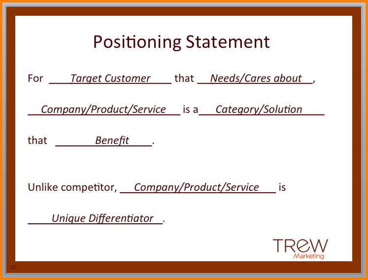 Brand Statement Examples.Positioning Statement.png - Letter ...