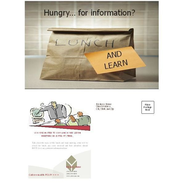 Free Business Lunch and Learn Invitation Forms: Options for MS ...