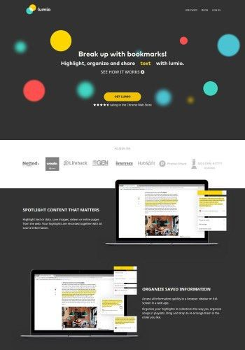 12+ Examples of Software Landing Page Designs to inspire you