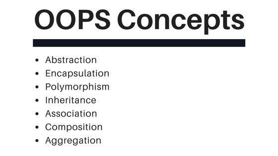 OOPS Concepts in Java - OOPS Concepts Example - JournalDev