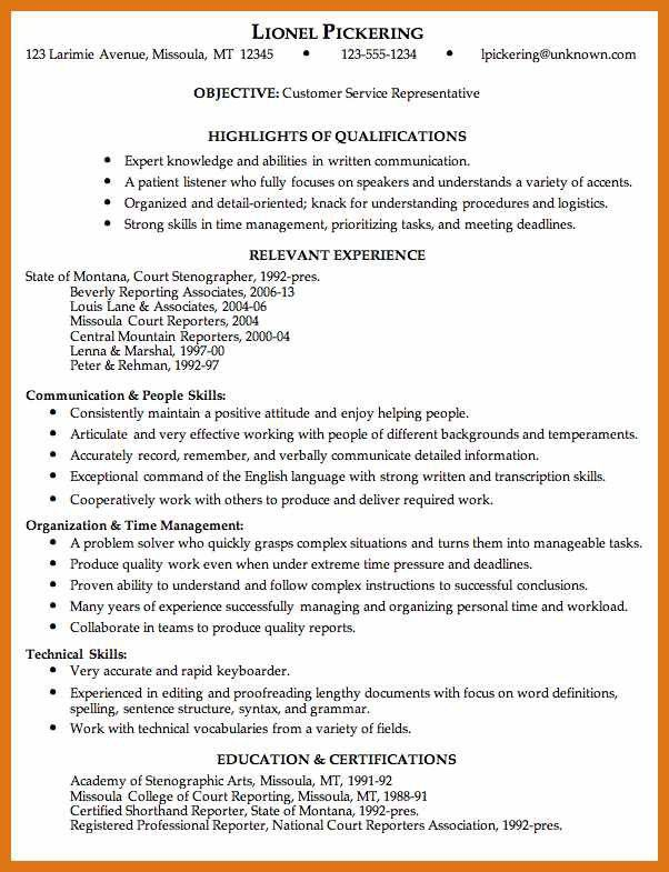 resume examples for your job search livecareer with delightful how ...