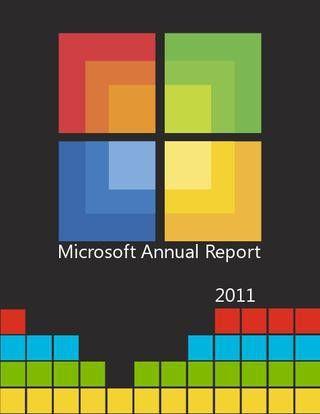 Microsoft Annual Report by Andy Chun - issuu