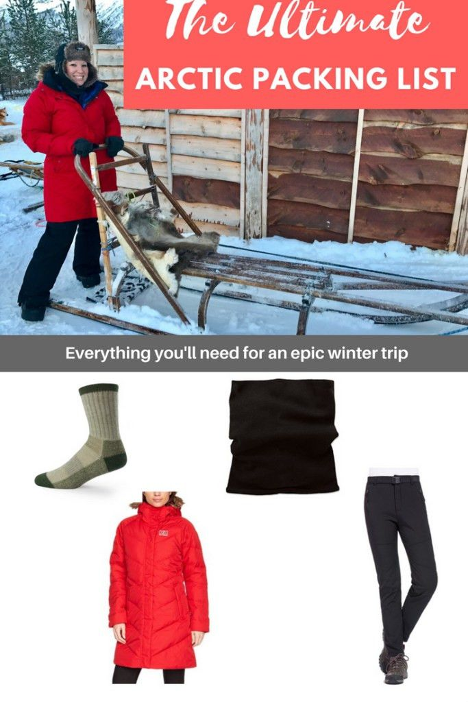 The Ultimate Packing List of Arctic Wear | One Girl, Whole World