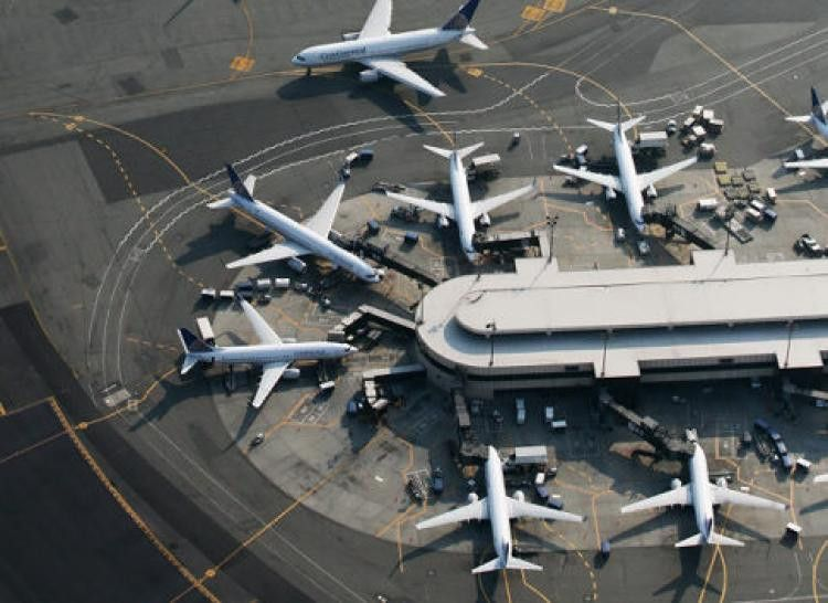 planes park at newark international airport authorities arrested ...